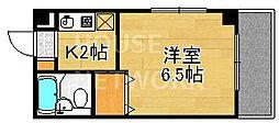 森マンション5[305号室号室]の間取り