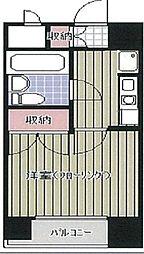 ラ・レジダンス・ド・仙台[3階]の間取り