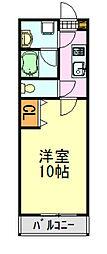 KS・HOYO[6階]の間取り