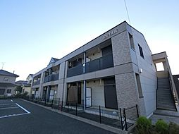 千葉県八街市八街にの賃貸マンションの外観