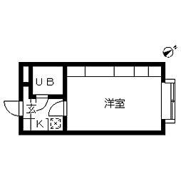 エマーレ中野新橋[0102号室]の間取り