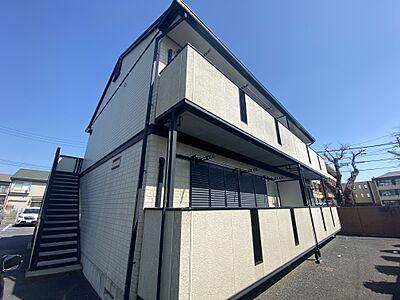 外観,2DK,面積39.6m2,賃料5.0万円,JR常磐線 水戸駅 徒歩33分,,茨城県水戸市千波町486番地