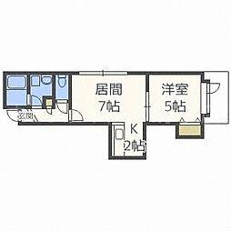 サマセット・ハウス弐番館[3階]の間取り