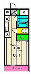 アル・ヴェール[5階]の間取り