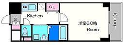 クレアート北大阪レヴァンテ[15階]の間取り