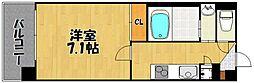willDo中洲[2階]の間取り