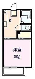 タカギハイツ 2[103号室]の間取り