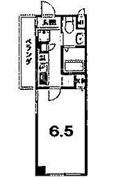 LA CACHETTE[3-D号室号室]の間取り