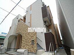 愛知県名古屋市中川区山王3丁目の賃貸アパートの外観