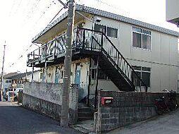 コーポ岡本[202号室]の外観