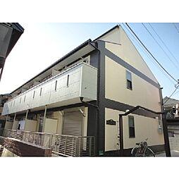 東京都足立区島根3丁目の賃貸アパートの外観