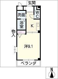 ルミナールモア[2階]の間取り