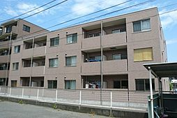 群馬県前橋市川曲町の賃貸マンションの外観