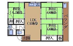 コーポ安田[201号室]の間取り