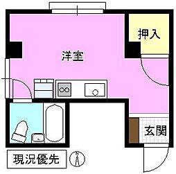 長野県長野市大字南長野諏訪町の賃貸アパートの間取り