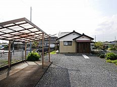 水戸市千波町、現地土地写真です。