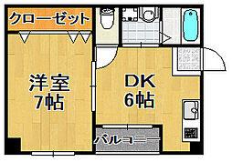 ライブスクエア[4階]の間取り