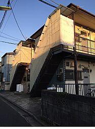 松林コーポ2号棟[1階]の外観