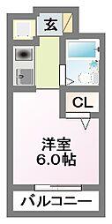 スカイハイム津田沼[105号室]の間取り