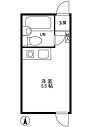 目白ガーデン[2階]の間取り