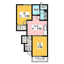 キッズタウン2[1階]の間取り
