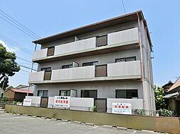 滋賀県甲賀市水口町八坂の賃貸マンションの外観