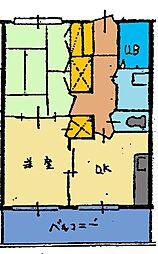 アルコレジデンス[203号室]の間取り