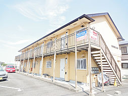 滋賀県野洲市西河原の賃貸アパートの外観