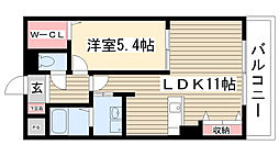 愛知県名古屋市守山区大字下志段味字釼当先の賃貸マンションの間取り