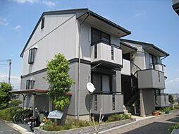大阪府四條畷市田原台3丁目の賃貸アパートの外観