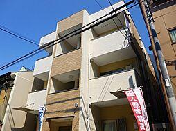 大阪府大阪市福島区鷺洲2丁目の賃貸アパートの外観