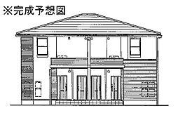 長崎県雲仙市愛野町乙の賃貸アパートの外観