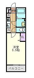 埼玉県さいたま市中央区上峰3丁目の賃貸マンションの間取り