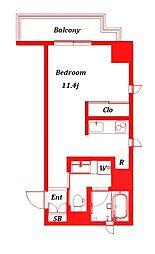 アインハウス -EINHAUS-[4階]の間取り