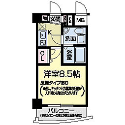 セレニテ甲子園I[0414号室]の間取り