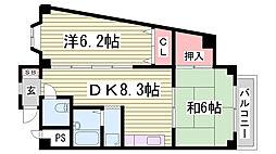英賀保駅 5.2万円