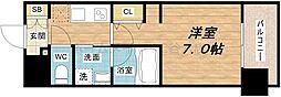 アーバネックス北堀江II[12階]の間取り