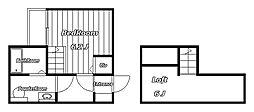 SAISON NOUVELLE HANAZONO[2階]の間取り