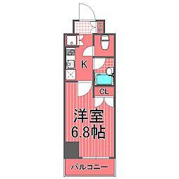 スパシエエル新横浜[10階]の間取り