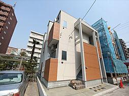 愛知県名古屋市中川区尾頭橋1丁目の賃貸アパートの外観
