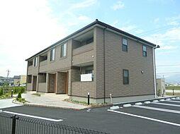 三重県松阪市小黒田町の賃貸アパートの外観
