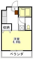 ハイツエスポワール2[1階]の間取り