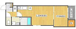 サンクレールK[2階]の間取り
