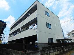 栃木県宇都宮市江曽島4の賃貸マンションの外観