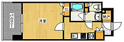 福岡県福岡市博多区博多駅東2丁目の賃貸マンションの間取り