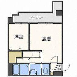 VILLAGE北大通壱番館[8階]の間取り