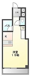 愛知県日進市香久山1丁目の賃貸マンションの間取り