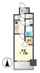 プレサンス名古屋グロウ[6階]の間取り