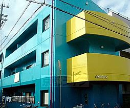 京都府京都市下京区朱雀正会町の賃貸マンションの外観