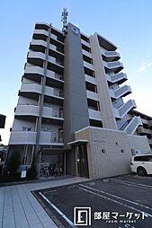 愛知県岡崎市井田町字東城の賃貸マンションの外観